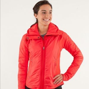 Lululemon red puffer jacket